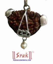 1 Mukhi Rudraksh Locket Silver