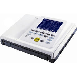Automatic P-R. interval 4 Channel ECG Machine, Number of Channels: 6