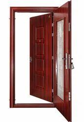 Glo Guard Security Twin Steel Door