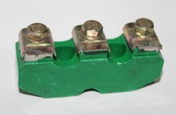 Siemens Type Connection Plates Green Dmc 1,2,3,4 Numbers