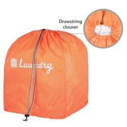 Orange Pick Up Laundry Bag