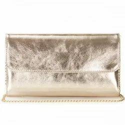 Pu Plain Ladies Trendy Clutch, Packaging Type: Packet