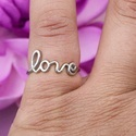 925 Sterling Silver Love Ring