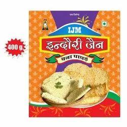 Indori Jain 3 Months 400 Gram Chana Papad