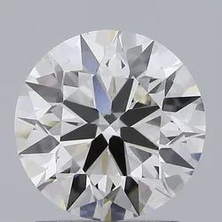 1.55ct Lab Grown Diamond CVD I VS2 Round Brilliant Cut IGI Certified Stone
