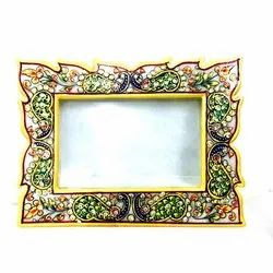 Multicolor Marble Photo Frame