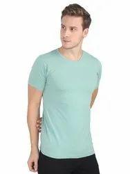 Mens Plain Cotton Round Neck T Shirts