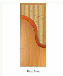 Termite Proof Brown Falsh Door, For Home