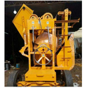 Concrete Mixer With Hopper Lift