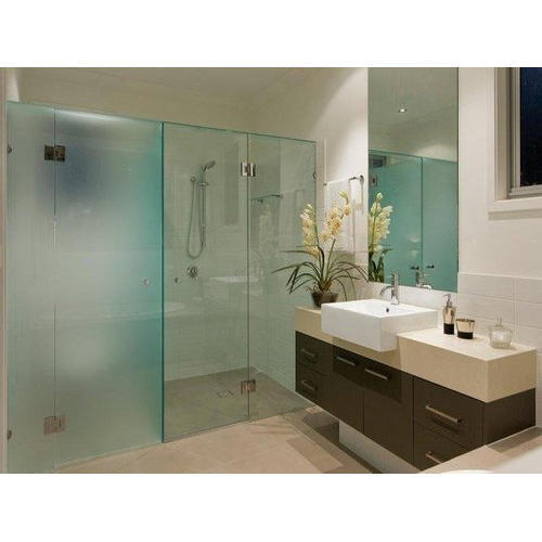 Bathroom Glass Partition, Modular Glass Partition, ग्लास ...