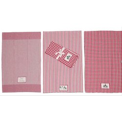 Check Cotton Checkered Kitchen Towel for Kitchen Cleaning, Size: 50 X 70 Cm