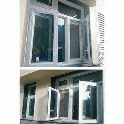 Aluminium Casement Fly Mesh Window, for Office