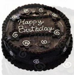 Dark Chocolate Eggless Cake
