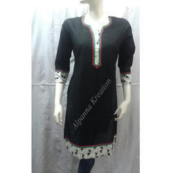 Cambric Cotton Designer Kurtis