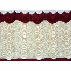 Decorative Wedding Plain Curtains