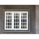 White Aluminum Window