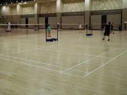 Badminton Court Wood Flooring