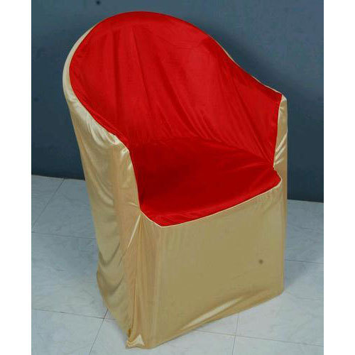 Plain Polyester Spandex Wedding Plastic Chair Cover Rs