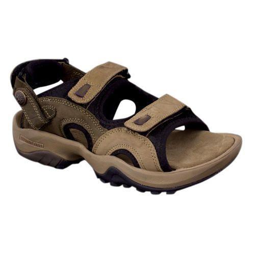 61bf4f8754dcd Lehar Brown Men  s Leather Sandals