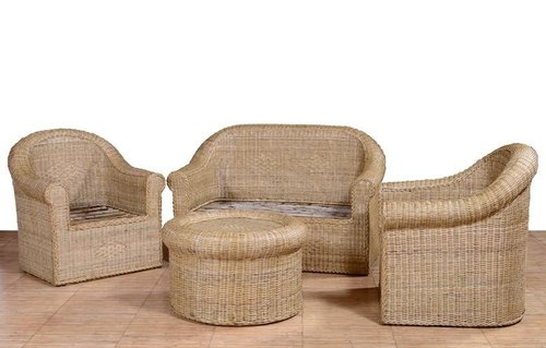 Cane Sofa Sets Bamboo Set, Bamboo Sofa Set