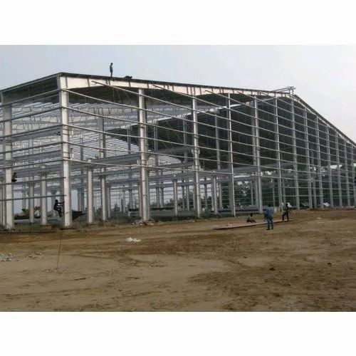 Steel Industrial Factory Shed