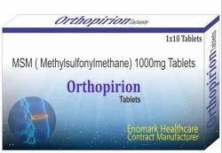 Methylsulfonylmethane 1000mg Tablets