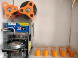 Fully Automatic cup sealing machine 95 mm / 80 mm