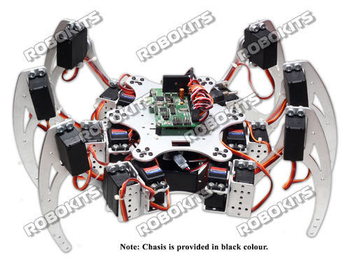 Robokits india 18dof 6 Legged Intelligent Hexapod Diy W/t 18 Servo Controller