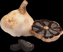 A Grade Pan India Aged Black Garlic Manufactured By Aaswad, Carton, 5 Kg