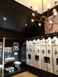 Black Roca Sanitary Ware Showroom
