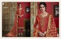 Unstitched Dress With Banarasi Dupatta Embroidery work