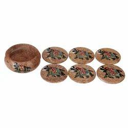 Soapstone Painting Coasters