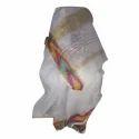 Golden White Plain Linen Saree
