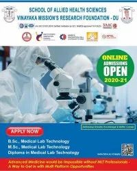 B.Sc Medical Laboratory Technology (MLT), Course Duration: 3 Years