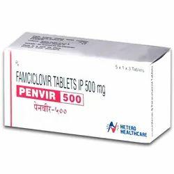 Penvir 500mg - Famciclovir 500mg Tablets