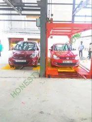 Car parking lift system