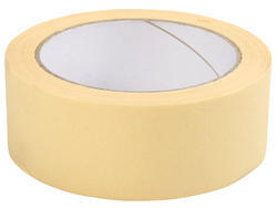 Light Yellow Self Adhesive Masking Tape