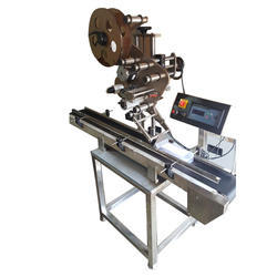 Automatic Top Sticker Labeling Machine