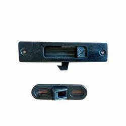 Shailesh Lock Aluminium Mini Star Door Lock, Powder Coated