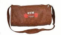 Brown Gym Bag