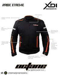 Biker Full Sleeve XDI Octane - Riding Jacket