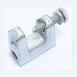 Wide Throat Threaded Beam Clamp