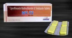Ciprofloxacin 500 mg & Tinidazole 600 mg
