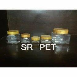 Square Pet Jars