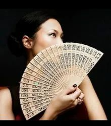 Wooden Chinese Folding Hand Fan