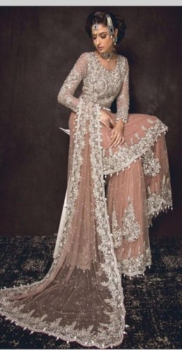88c7f04da5 Maria b sana safinaz Red Green Cream Pink Peach Pakistani Bridal Dress,  Size: Freesize