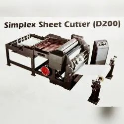 Rotary Paper Reel To Sheet Cutting Machine