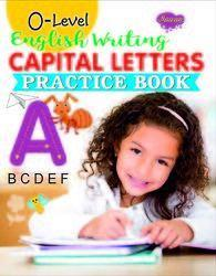 0 Level English Writing Capital Letters Practice Book