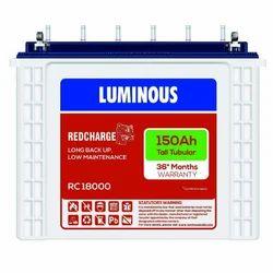150Ah Luminous Tall Tubular Battery