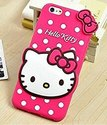 Plastic Pink Hello Kitty Mobile Cover For Mobile Protection